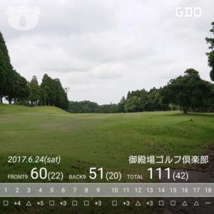 御殿場ゴルフクラブスコア