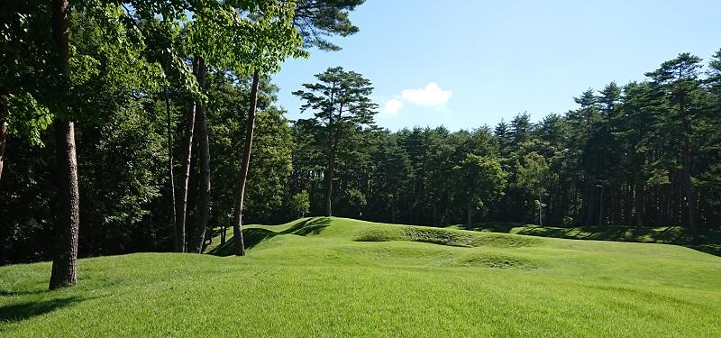 鳴沢ゴルフ倶楽部のホール
