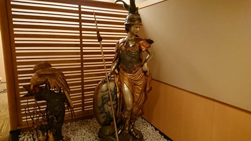 勝浦ゴルフ倶楽部の銅像