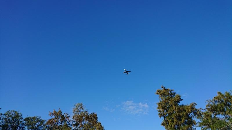 ハワイプリンスゴルフクラブ 飛行機 騒音