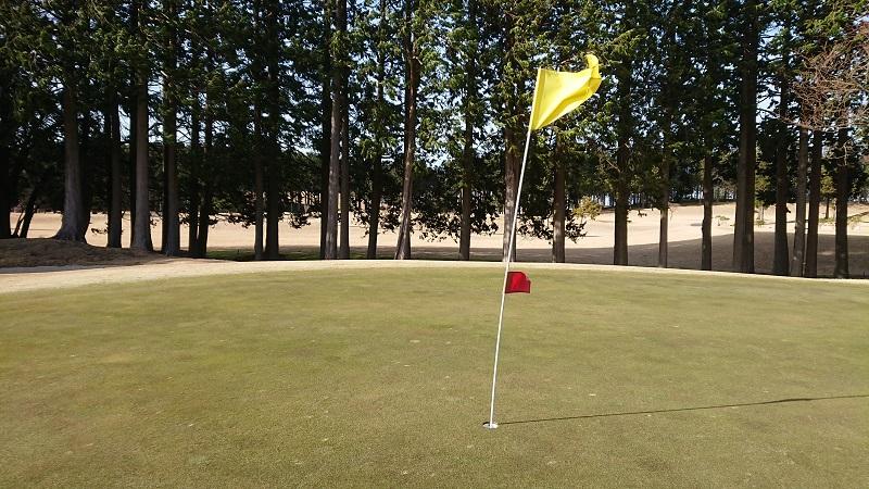 ゴルフ 強風