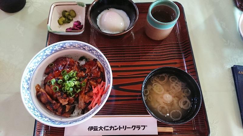 伊豆大仁カントリークラブ レストラン